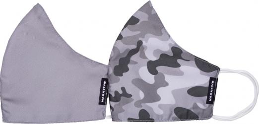 Set 2 masti fashion de protectie reutilizabile pentru barbati Narativo L2 Masti chirurgicale si reutilizabile