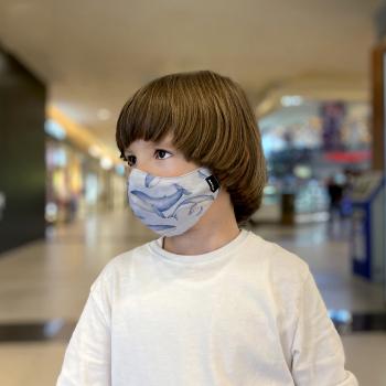 Set 2 masti fashion de protectie reutilizabile pentru copii Narativo S3 Masti chirurgicale si reutilizabile