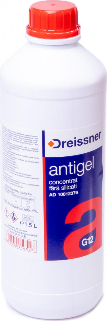 ANTIGEL ROSU G12 1.5L -DREISSNER