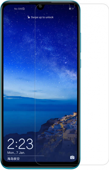 Folie din sticla securizata compatibila cu Huawei P Smart S Lipici pe intreaga suprafata Transparenta Folii Protectie