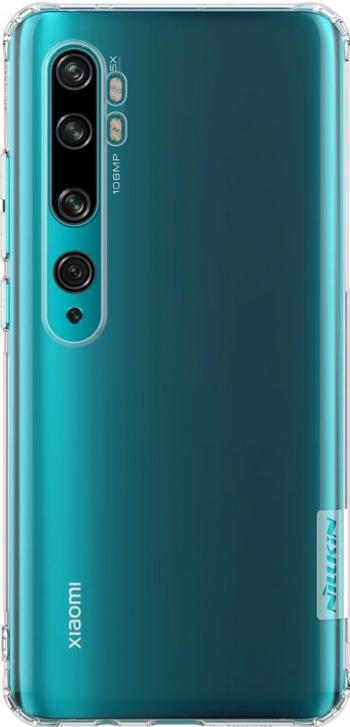 Husa Premium Slim Nillkin Nature Xiaomi Mi Note 10 / Mi Note 10 Pro Transparenta cu Tehnologie Air Cushion Huse Telefoane