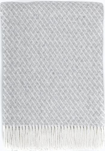 Patura Jasmine lana Merinos 140x200 cm Cuverturi & Paturi