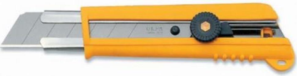Cutter 25 mm pentru solicitari mari Comfort Grip OLFA Unelte de taiat & Pile