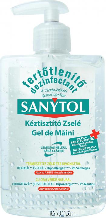 Gel dezinfectant pentru maini Sanytol 250 ml Gel antibacterian