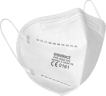 Set 5 bucati Masca de protectie FFP2  KN95  N955 straturiCertificata pentru protectie impotriva COVID-19sigilate individual Masti chirurgicale si reutilizabile