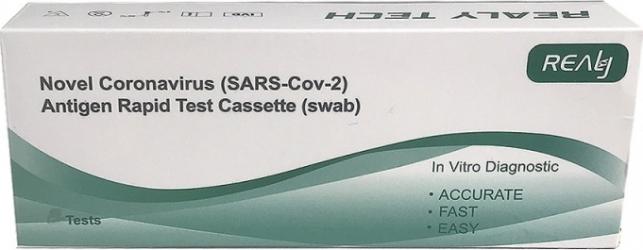Test rapid antigen - Covid 19Avizat ANMR 1 test Teste rapide covid anticorpi antigen