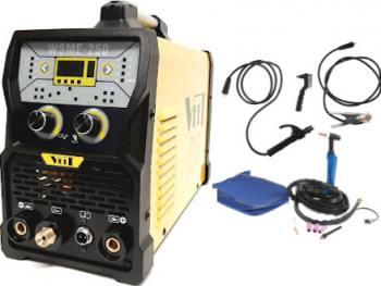 Velt Digital WSME 250 Invertor 230V TIG/MMA AC/DC Aluminiu