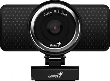 Camera web Genius ECam 8000 1080p 2MP Full HD USB Black Camere Web