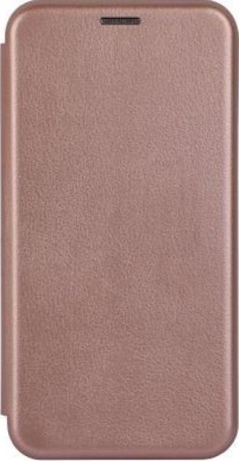 Husa Flip Carte Cu Magnet Lux Upzz Xiaomi Redmi 9 rose Gold Huse Telefoane