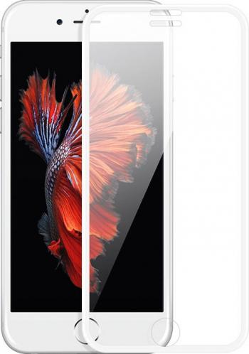 Folie Premium Sticla Securizata Hoco A11 iPhone 7 Plus iphone 8 Plus Alb Transparenta
