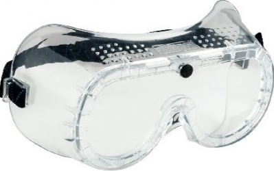 Ochelari de protectie cu ventilatie directa PW20