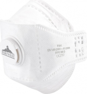 Semi-masca pliabila cu supapa FFP3 DOLOMITE FOLD EAGLE P391 Articole protectia muncii
