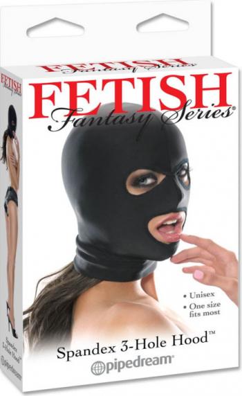 Masca Fetish Spandex 3 Hole Hood Genti pentru mamici