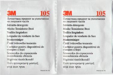 Set 2 sevetele pentru dezinfectare masti reutilizabile - 3M-105 Articole curatenie si igiena