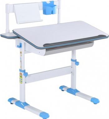 Birou pentru copii ergonomic si reglabil SingBee SBD-202-BL Little Artist Desk