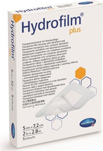 Plasture Hydrofilm - plus 5x7 2cm-50buc