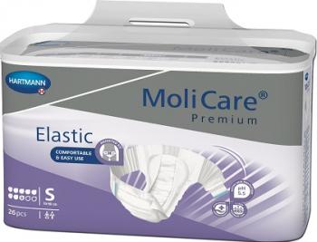 Scutece Molicare Premium Elastic 8 picaturi - MoliCare Premium Elastic 8 pic. S Dispozitive monitorizare medicala