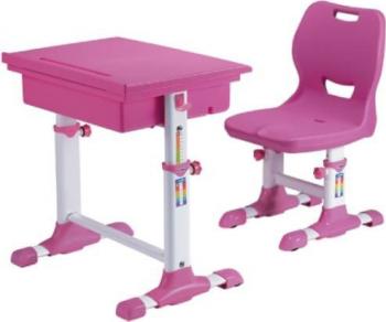Set birou si scaun copii SingBee Student Desk ST-A-PK reglabil in inaltime