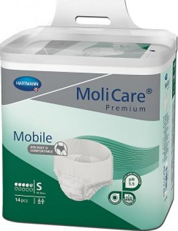 Slip incontinenta MoliCare Mobile - Hartmann - S 14 bucati 60-90 cm Dispozitive monitorizare medicala