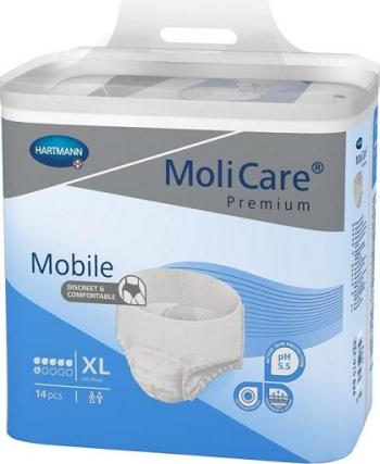 Slip incontinenta MoliCare Mobile - Hartmann - XL 14 bucati 130-170 cm Dispozitive monitorizare medicala