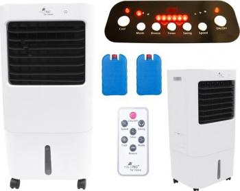 Aparat de Aer Conditionat Clima Mobila Portabila Malatec 3 in 1 7 Moduri de functionare Telecomanda Functie de Racire Umidificare Ventilatoare