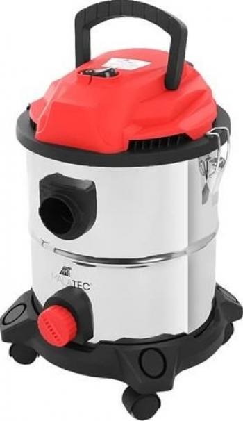 Aspirator Industrial Malatec 1400W 2000w Capacitate 20 Litri Umed/Uscat Din Otel Inoxidabil