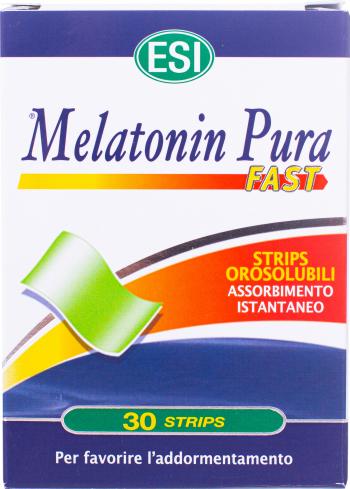 ESI Melatonin Pura Fast 1 mg 30 strips Vitamine si Suplimente nutritive