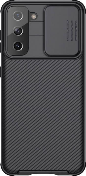 Husa protectie spate si camera foto negru pentru Samsung Galaxy S21 5G - Nillkin CamShield Pro Huse Telefoane