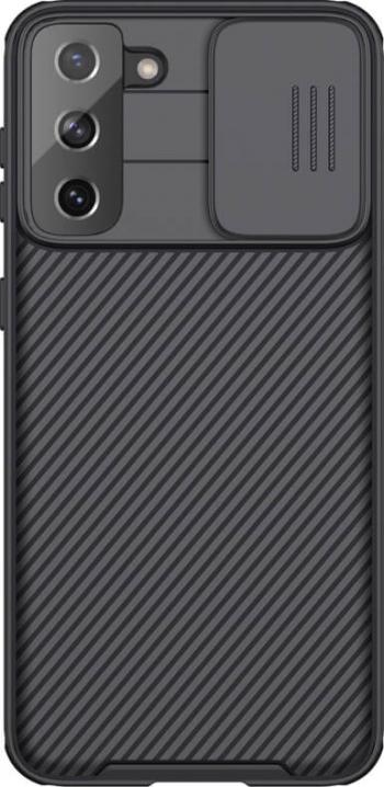 Husa protectie spate si camera foto negru pentru Samsung Galaxy S21 Plus 5G - Nillkin CamShield Pro Huse Telefoane