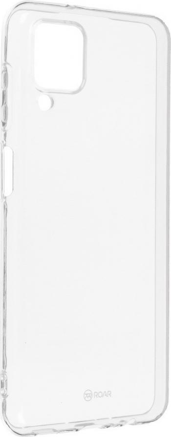 Husa Spate Slim Roar Jelly Pentru Samsung Galaxy A12 Transparenta Anti - Alunecare