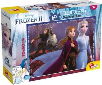 Puzzle de colorat maxi - Frozen II 60 piese Puzzle