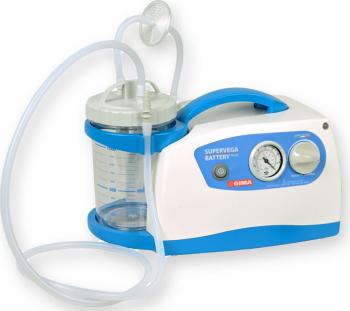 Aspirator chirurgical Gima Super Vega 36 l/min Portabil cu baterie Aparate medicale