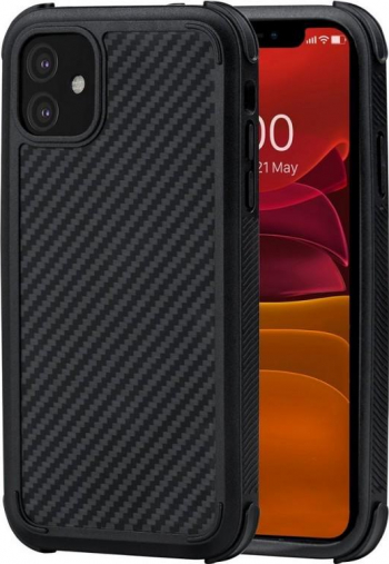 Carcasa PITAKA MagEZ Pro Aramid iPhone 11 Black Huse Telefoane