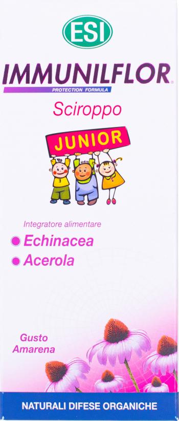 ESI Immunilflor junior sirop 180 ml Vitamine si Suplimente nutritive