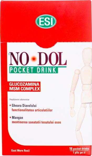 ESI No-Dol pocket drink 16 buc 20ml Vitamine si Suplimente nutritive