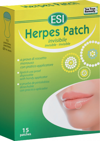ESI Plasturi Antiherpetici 15 buc Vitamine si Suplimente nutritive