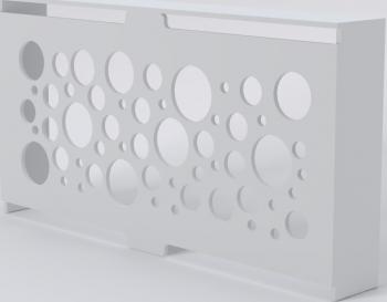 Masca calorifer MDF Premium ALB 175 x 25 x 90 cm Lungime x Latime x Inaltime Accesorii mobilier