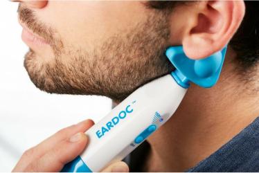 Tratamentul infectiei urechii in otita seroasa KENCAP EarDoc Pro Massager Alb/Albastru