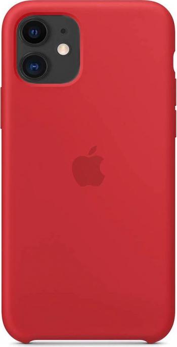 Husa Compatibila Apple iPhone 11 Pro Silicon Microfibra Red Hot Huse Telefoane