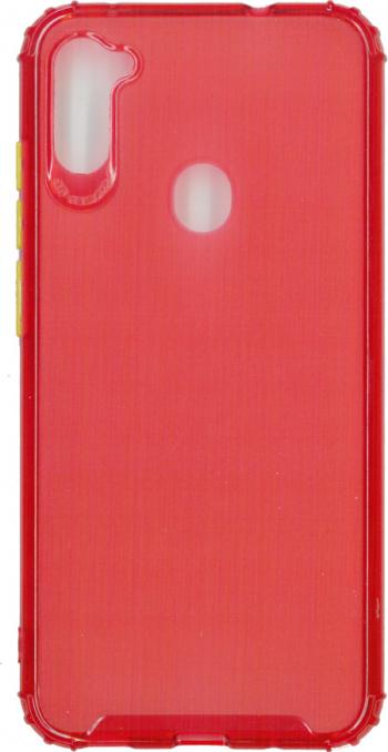 Husa din silicon anti crack pentru Samsung Galaxy M11 rosu