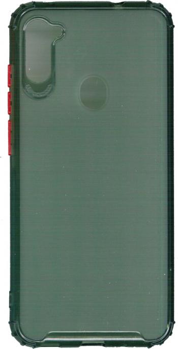 Husa din silicon anti crack pentru Samsung Galaxy M11 verde