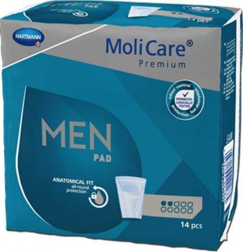 Tampoane pentru incontinenta la barbati MoliCare Premium M - Hartman Dispozitive monitorizare medicala