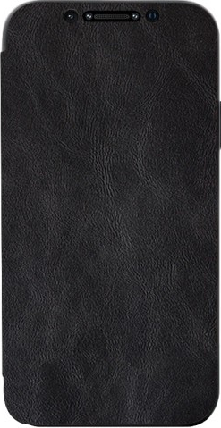 Husa Premium Flip Book Upzz Leather iPhone 11 Pro Max Piele Ecologica Negru Huse Telefoane