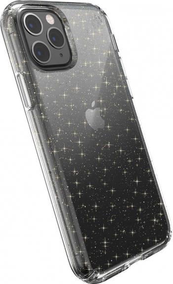 Carcasa husa iPhone 11 Pro Max Presidio Clear + Glitter antimicrobiana Huse Telefoane