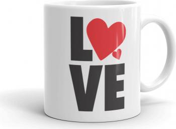 Cana personalizata Love