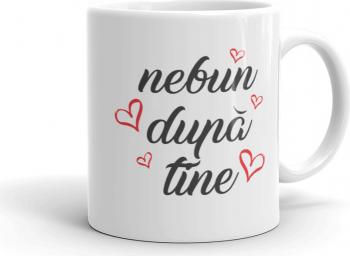 Cana personalizata Nebun dupa tine Cadouri