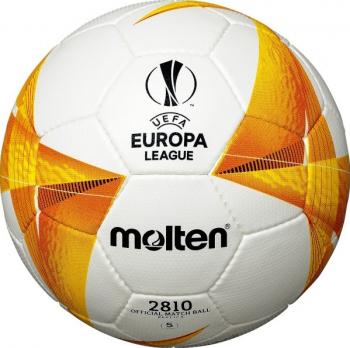 Minge fotbal Molten F5U2810-G0 model UEFA Europa League 2021 antrenament marime 5