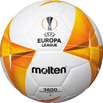 Minge fotbal Molten F5U3600-G0 UEFA Europa League 20/21 cusaturi sigilate - tehnologie inovativa marime 5