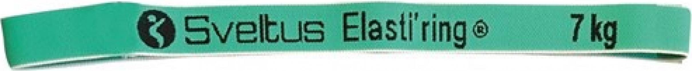 Banda elastica circulara 7kg verde - Sveltus Accesorii fitness