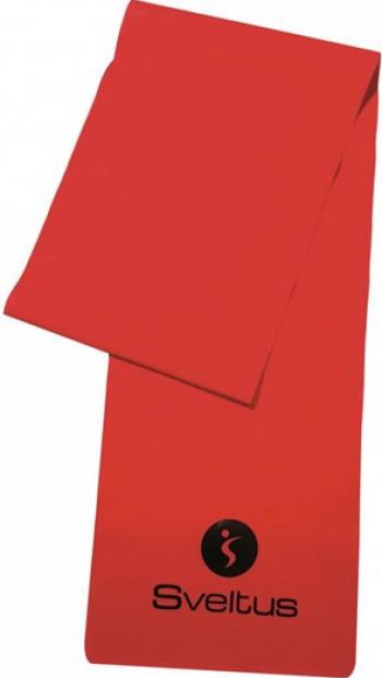 Banda latex antrenament rosie 1.2m - Sveltus Accesorii fitness